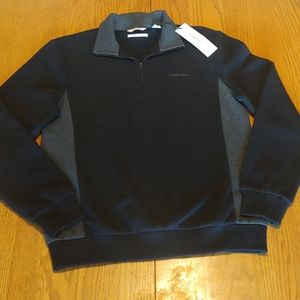 ✨Calvin Klein Fleece Quarter Zip NEW WITH TAGS